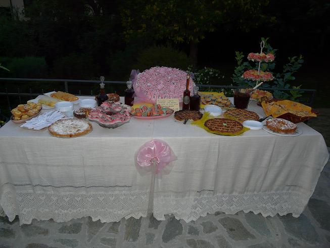 Buffet Di Dolci Battesimo : Briciole di cannella buffet per il battesimo di milo